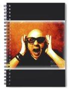 Screamer Spiral Notebook