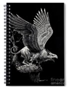 Screaming Griffon Spiral Notebook