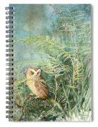 Screech Of Inglis Island Spiral Notebook