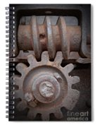 Screw And Gear  Spiral Notebook