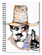 Scribbler Cowboy Spiral Notebook