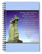 Scripture - Use Red-cyan 3d Glasses Spiral Notebook