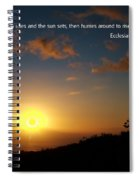 Scriture And Picture Ephesians 1 5 Spiral Notebook