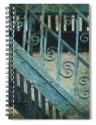 Scrolled Staircase By H H Photography Of Florida Spiral Notebook