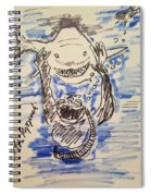 Scuba Diving With Sharks Spiral Notebook