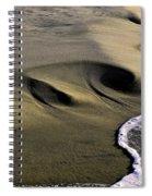 Sculpted Beach Spiral Notebook