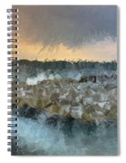 Sea And Stones Spiral Notebook