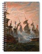 Sea Battle Spiral Notebook