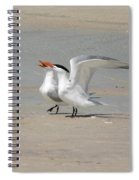 Sea Bird Song Spiral Notebook