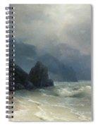 Sea Coast Spiral Notebook