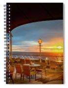 Sea Cruise Sunrise Spiral Notebook