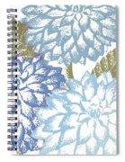 Sea Dahlias I Spiral Notebook