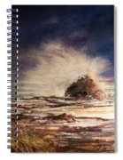 Sea Drama Spiral Notebook