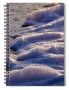 Sea Foam Spiral Notebook