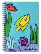Sea Frolic Spiral Notebook