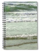 Sea Green Spiral Notebook