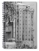 Sea Horse Gate Spiral Notebook