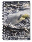 Sea In Turmoil Spiral Notebook