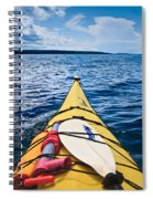 Sea Kayaking Spiral Notebook