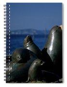 Sea Lion Sculpture  Spiral Notebook