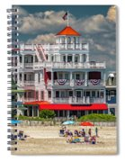 Sea Mist Hotel Spiral Notebook