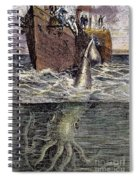 Sea Monster Spiral Notebook