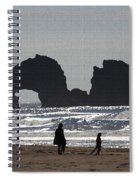 Sea Monster Only Eats Kelp Spiral Notebook