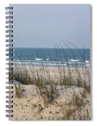 Sea Oats By The Ocean Spiral Notebook