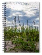 Sea Oats Sand Dune Sky Spiral Notebook