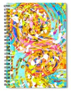 Sea Of Colors  Spiral Notebook