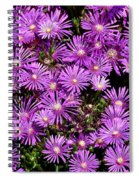 Sea Of Flowers Spiral Notebook