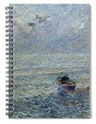 Sea Of Genoa Spiral Notebook