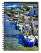Sea Ray Of Savannah  Spiral Notebook