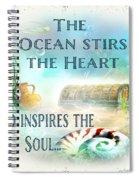 Sea Side-jp2736 Spiral Notebook