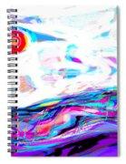 Sea-smoke Swalllows The Sun Spiral Notebook