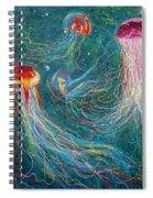 Sea Space Spiral Notebook
