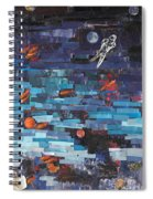 Sea Space Spiral Notebook