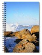 Sea Splash Spiral Notebook