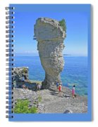 Sea Stack Perspective Spiral Notebook