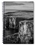 Sea Stacks, Yesnaby, Orkney, Scotland Spiral Notebook