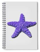 Sea Star Purple .png Spiral Notebook