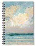 Sea Study - Morning Spiral Notebook