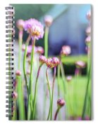Sea Thrift Spiral Notebook