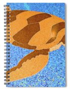 Sea Turtle Inlay In Vibrant Colors Spiral Notebook