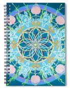Sea Turtle Mandala  Spiral Notebook