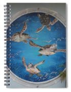 Sea Turtles Spiral Notebook
