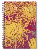 Sea Urchin 6 Spiral Notebook