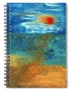 Sea Was Spiral Notebook