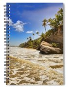 Sea Waves Spiral Notebook