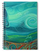 Seabed By Reina Cottier Spiral Notebook